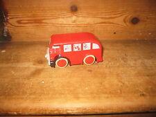 1995 BRITT ALLCROFT MY FIRST THOMAS TANK ENGINE PUSHALONG FRIEND RED BERTIE BUS