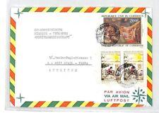 CA125 1982 Cameroon *MISSION CATHOLIQUE MANDANA* Air Cover MISSIONARY VEHICLES