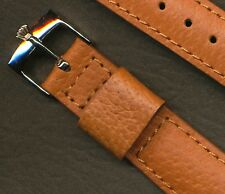 Rolex Stainless Steel Buckle. 20mm Custom Genuine Wild Boar Strap Band, Leather