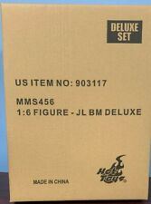 BATMAN DELUXE JUSTICE LEAGUE OF AMERICA -HOT TOYS FIGURE-FACTORY SEAL, DOUBLE BX