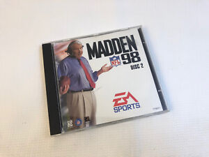 Madden NFL 98 PC 1997 Ea Sports Disc 2 Two II Only Windows 95 98 John Madden