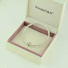 Authentic Pandora Silver Clasp Bracelet 19cm - 590702HV-19 - Box Included