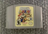 N64: Nintendo 64 Paper Mario - Authentic / Cleaned / Tested