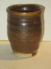 Stamped Warren Mackenzie Studio Pottery Yunomi Tea Cup