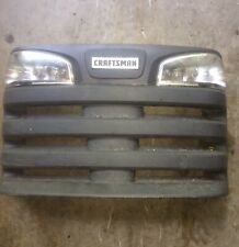 Craftsman DLT 2000 riding mower front grille 174945 & Headlights Assembly