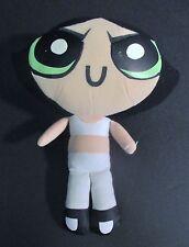 """PowerPuff Girls Buttercup Stuffed Plush Toy Doll 10"""""""