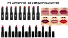 CYO Lipsticks - Matte & Sheen Sweep Cream by Boots - Long stay All shades