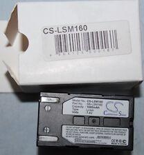 CAMERON SINO Batterie pour Samsung VP-D453i - CS-LSM160