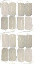 Gran Adhesivo Electrodo almohadillas conjunto de 16 decenas Electrodo almohadillas Reutilizable
