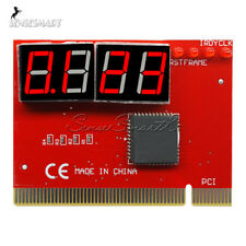 LED 4 Digit Analysis Diagnostic Tester POST Card PCI PC Analyzer Motherboard SE