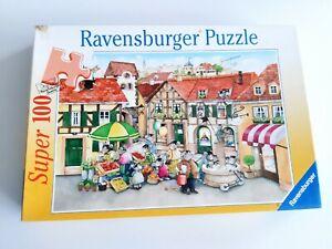 100 Pieces Super Puzzle - IN Mäusestädtchen - Ravensburger - 100% Complete