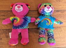 Build a Bear ~ Spin Master Soft Toys ~ Pink Bear ~ Multi Colour Bear ~ T-shirts