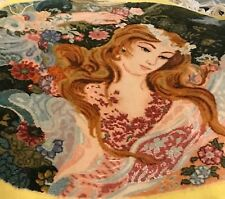 An Attractive Vintage Pictorial Rug