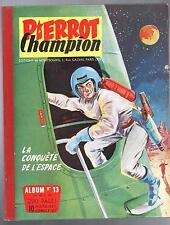 PIERROT album éditeur 13. Pierrot Champion n°20 à 29 (1956). Très bel état