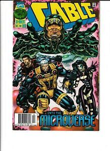 Cable #38 INTO THE MICROVERSE (Dec 1996, Marvel) NEAR MINT - 9.2