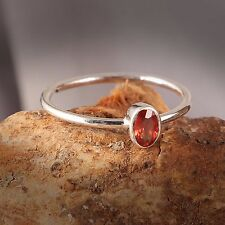 Christmas Sale, 925 Sterling Silver Natural Red Sapphire Jewelry Ring Handmade
