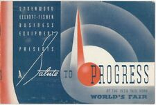 1939 Catalog Underwood Elliott-Fisher Business Machines at 1939 World's Fair
