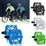 Pedal MTB MOUNTAIN BIKE BMX Bicicletta Bici lega di alluminio CUSCINETTI PIATTI