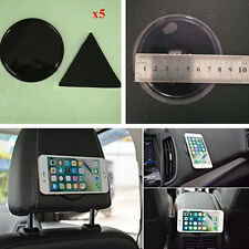 5x Round+Triangle Anti-Slip Gel Pad Multifunction Car Phone Sticky Wall Sticker