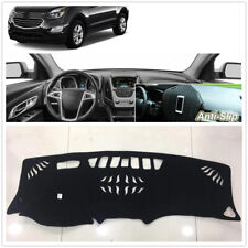For Chevrolet Equinox 2017+ Dash Mat Cover Black Non-Slip Dashboard Sun Pad A