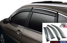 Fit 2012 - 2016 Honda CRV Window Visors Vent Sun Rain Wind Deflector OE Style US