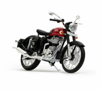 Royal Enfield Classic 350 1:12 Scale Model Redditch Red