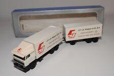 @. LION CAR DAF 2800 TRUCK WITH TRAILER JP V.D. STAPPEN & ZN. BV EXCELLENT BOXED