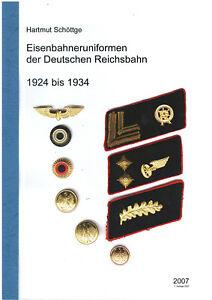 Eisenbahner Uniform Reichsbahn 1924 bis 1934