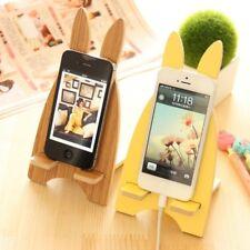 Deko Schreibtisch Handyhalterung Bücher Holz Dekoration Smartphone Handyhalter
