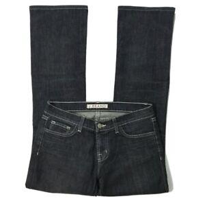 J Brand Black Rustiv Black Denim Jeans Size 28 Bootcut