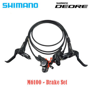 Shimano Deore BR-M6100 M6000 Bike MTB Hydraulic Disc Brake Set Front Rear