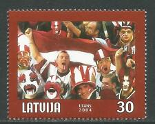 Latvia 2004 World Ice Hocky Championships--Attractive Sports Topical (591) MNH
