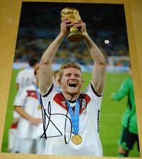 ANDRE schurrle personalmente a mano firmato Autograph 12x8 Foto Germania Calcio