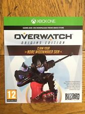 Overwatch Noire Widowmaker Skin DLC (no game, DLC Only) - Xbox One UK Rare!