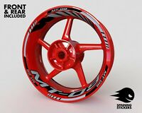 """Wheel Stickers for Yamaha MT-09 MT09 Rim Tape Motorcycle Decals Graphics 17"""""""