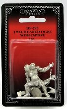 Ral Partha DF-295 Two-Headed Ogre with Captive (NPC Encounters) Female Victim