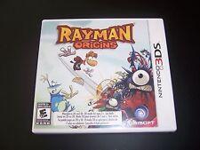 Replacement Case (NO GAME) RAYMAN ORIGINS Nintendo 3DS - 100% Original Box