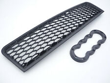 Black BADGELESS Honeycomb Grill pour Audi A6 4B C5 2001-2005 RS Style