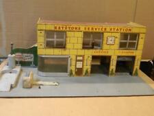 Extra Large Keystone Masonite & Wood Garage/Service Station 1950's