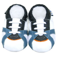 Littleoneshoes(Jinwood) Soft Sole Leather Baby prewalk shoe TrainerWhite 12-18M