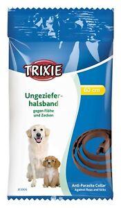 Trixie Flohhalsband Zeckenhalsband Ungezieferhalsband Hund 60cm ab 3 Monate