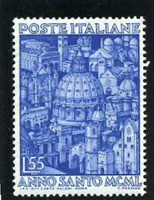 1950 (Année sainte-Vue des églises de Rome) - Y & T n° 559** - Superbe