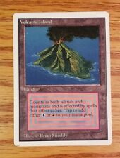 Unlimited Volcanic Island x1 - NM Front/MP Back - Mtg Magic the Gathering