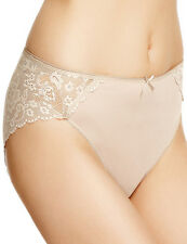 MARKS & SPENCERS BEIGE  LACEY BACK  KNICKERS SIZE UK 18  BARGAIN