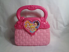 Disney Princess Pink Plastic Pretend Play Purse / Handbag