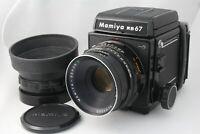 【N MINT】 Mamiya RB67 PRO S + Sekor C 127mm F3.8 Lens + 120 Film Back from Japan