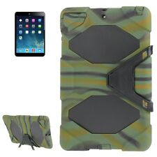 Survivor Military Stand Shell cover custodia mimetica protezione per iPad Air