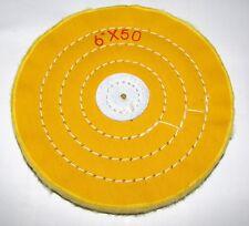 Preso TAMPONE LUCIDATURA-morbido Muslin-d.125 mm - 50 strati-ca. 15 mm larga