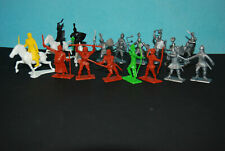 16 Dulcop Robin Hood Knights Ritter Figuren 60 mm 70 mm new Made in Italy