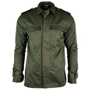 New Mens Military Field Army Combat Jacket BDU Coat Vintage Surplus = Medium